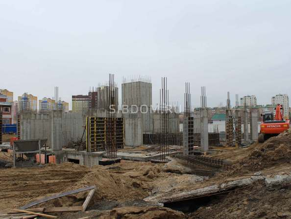 Фото Жилой комплекс КУЗЬМИНКИ, дом 3, Ход строительства март 2019