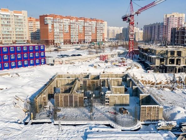 Ход строительства 2 февраля 2021