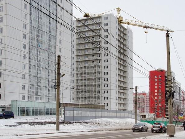 Фото Жилой комплекс НОВОНИКОЛАЕВСКИЙ, дом 2, стр 1, Ход строительства 28 января 2018