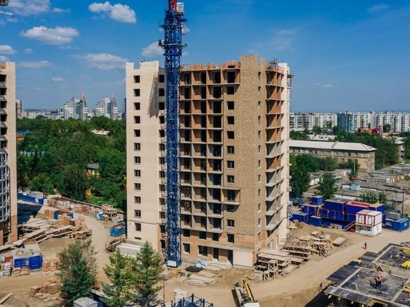 Фото Жилой комплекс SCANDIS (Скандис), дом 7, Ход строительства 5 августа 2019
