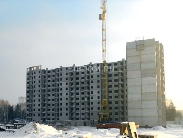 Ход строительства январь 2020