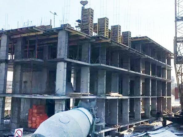 Фото Ленина, 123, Ход строительства март 2019