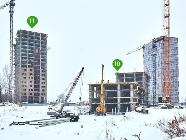 Фото Жилой комплекс ЯСНЫЙ БЕРЕГ, дом 11, Ход строительства 4 декабря 2018