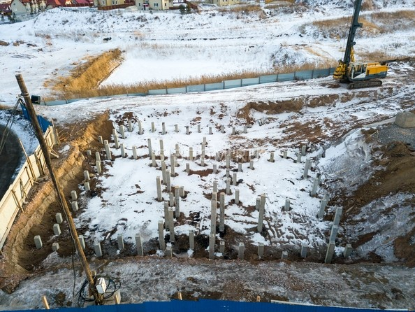 Фото ЖИВЁМ эко-район, 5 квартал, дом 1, Ход строительства 25 февраля 2019