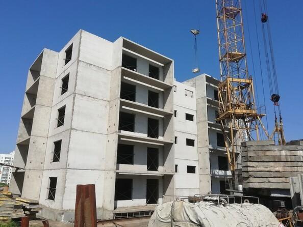 Фото Жилой комплекс КЕМЕРОВО-СИТИ, дом 4г, Ход строительства июль 2019
