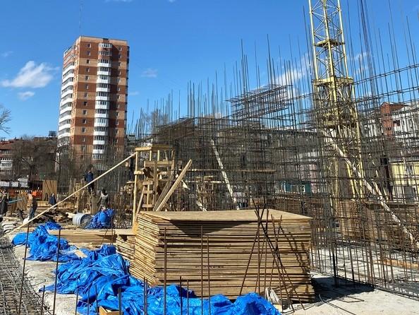 Ход строительства 1 апреля 2021
