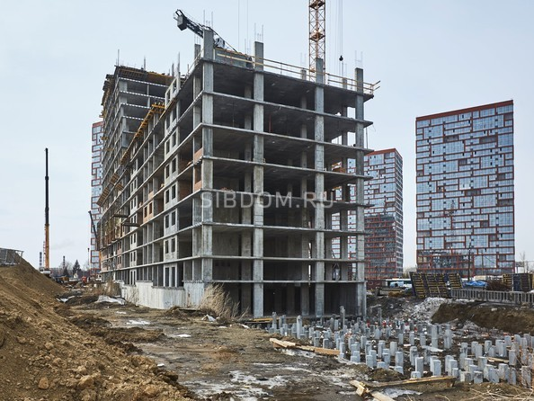 Ход строительства 2 апреля 2019