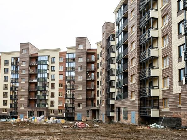 Фото Жилой комплекс Академгородок, дом 1, корп 1, Ход строительства 24 июня 2019