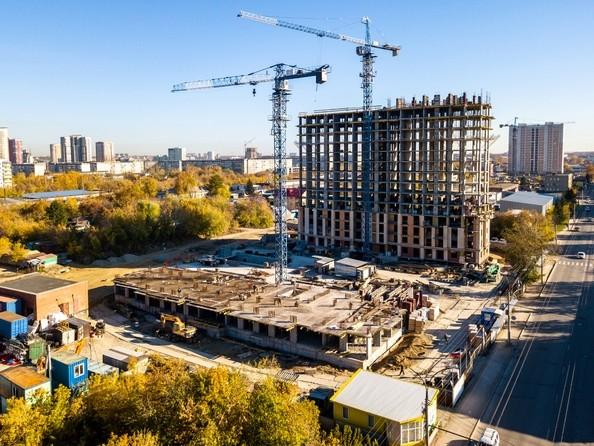 Фото Жилой комплекс ОСТРОВСКИЙ, б/с 2, Ход строительства 8 октября 2018