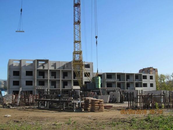 Фото Жилой комплекс РОДНИКИ, дом 2, Ход строительства сентябрь 2018