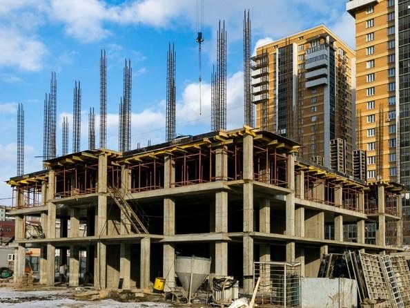Фото Жилой комплекс ВЗЛЕТНАЯ, 7, Ход строительства 22 февраля 2019. Блок-секция 2