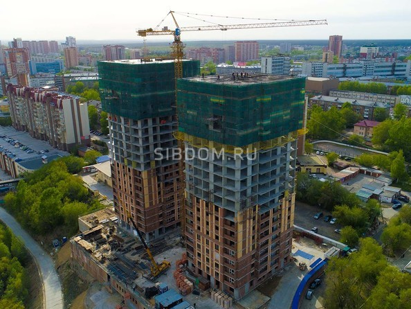 Фото Жилой комплекс ЭРМИТАЖ, Ход строительства июнь 2019