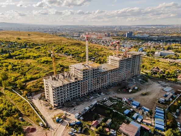 Ход строительства 17 сентября 2021