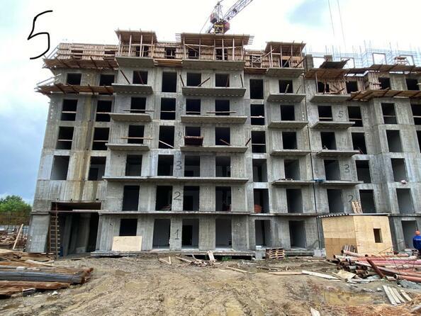 Ход строительства 4 августа 2021