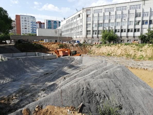 Фото Жилой комплекс Немировича-Данченко, дом 1, Ход строительства 31 августа 2018