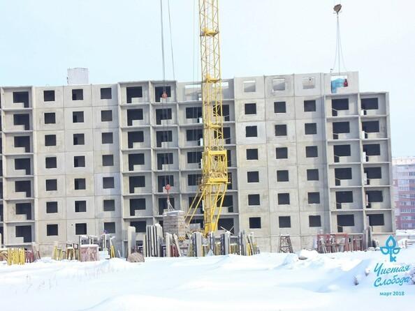 Фото Жилой комплекс ЧИСТАЯ СЛОБОДА, дом 27, Ход строительства март 2018