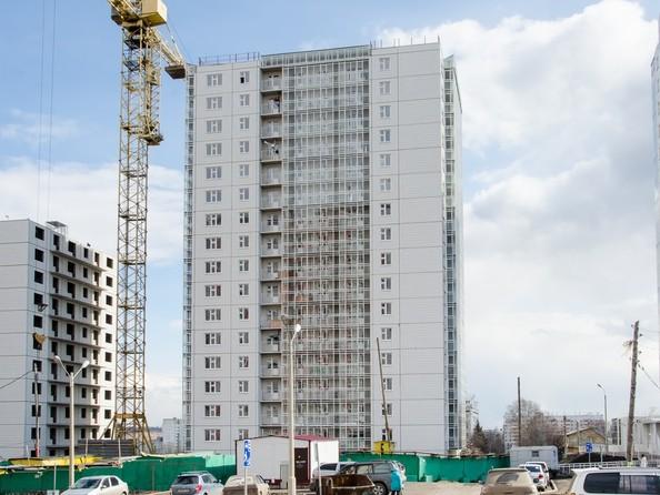 Фото Жилой комплекс НОВОНИКОЛАЕВСКИЙ, дом 2, стр 1, Ход строительства 11 апреля 2018