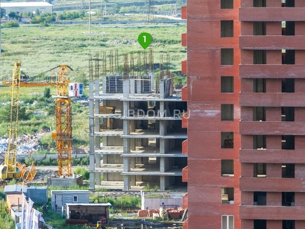 Фото Жилой комплекс КВАДРО, дом 1, Ход строительства 14 августа 2017