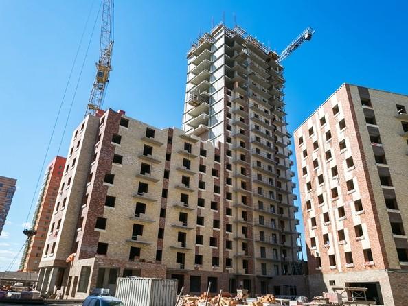 Фото Жилой комплекс ЮЖНЫЙ БЕРЕГ, дом 17, Ход строительства 23 апреля 2019