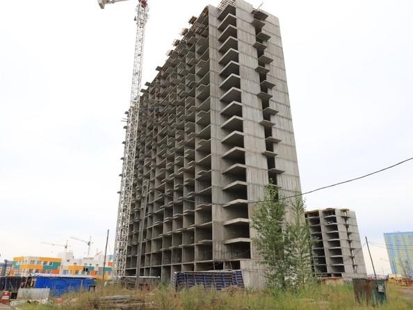 Ход строительства 20 сентября 2021