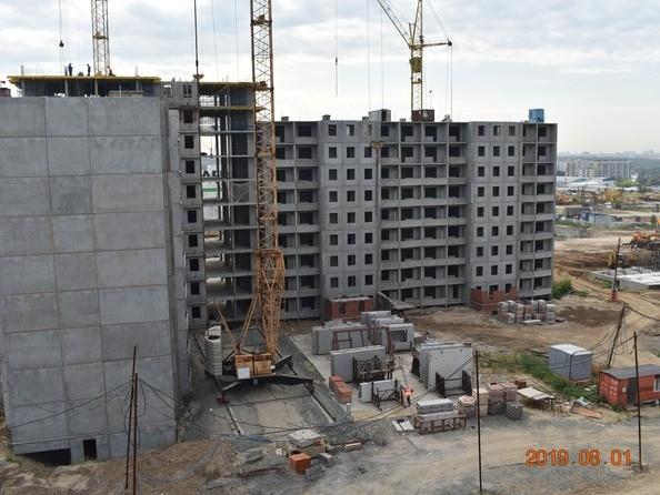 Фото Жилой комплекс РОДНИКИ, дом 601, Ход строительства 1 августа 2019