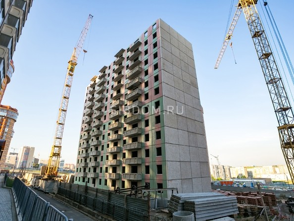 Фото СНЕГИРИ, дом 6, Ход строительства 25 июня 2018