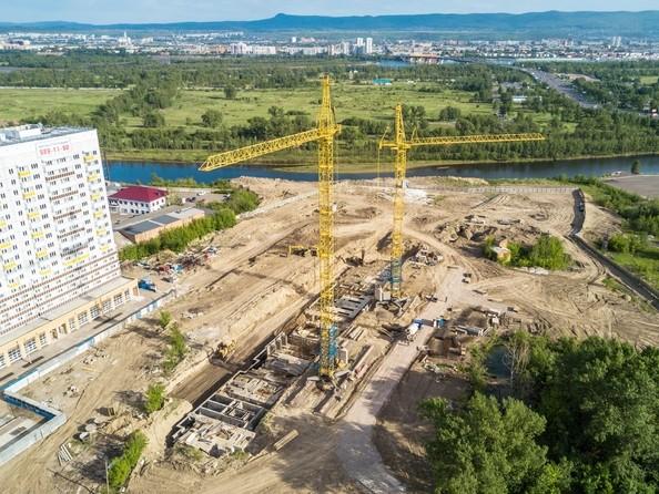 Фото Жилой комплекс Иннокентьевский, 3 мкр, дом 3, Ход строительства 5 июня 2017