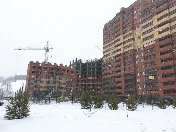 Фото Жилой комплекс ВЕСЕННИЙ, Заречная 21, дом 2, Ход строительства февраль 2019