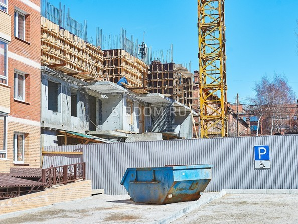 Ход строительства 22 апреля 2019