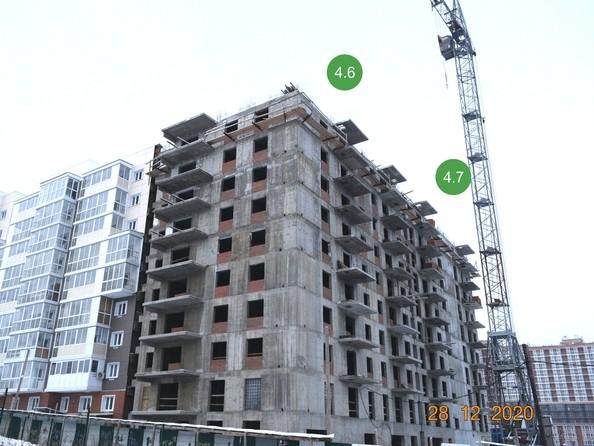 Ход строительства 28 декабря 2020
