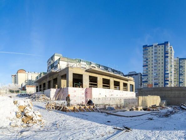 Ход строительства 26 декабря 2020