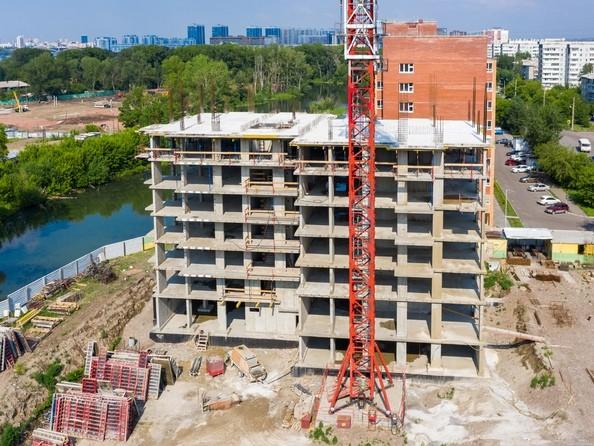 Фото Жилой комплекс НОВЫЙ КЛЕНОВЫЙ , Ход строительства 23 июня 2019