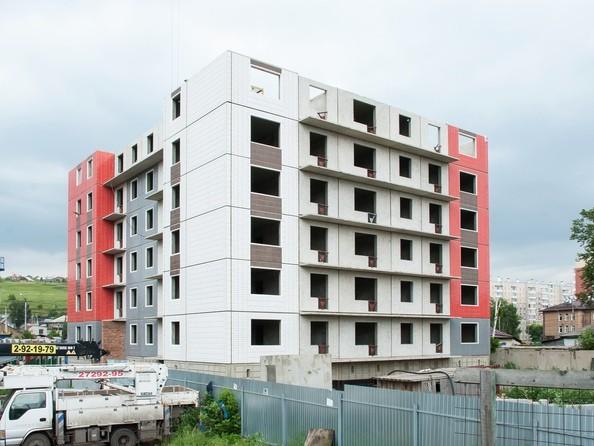 Фото Жилой комплекс КАЛИНА, дом 2, стр 1, Ход строительства 17 июля 2019