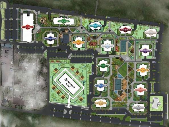 План жилого комплекса «Южный»