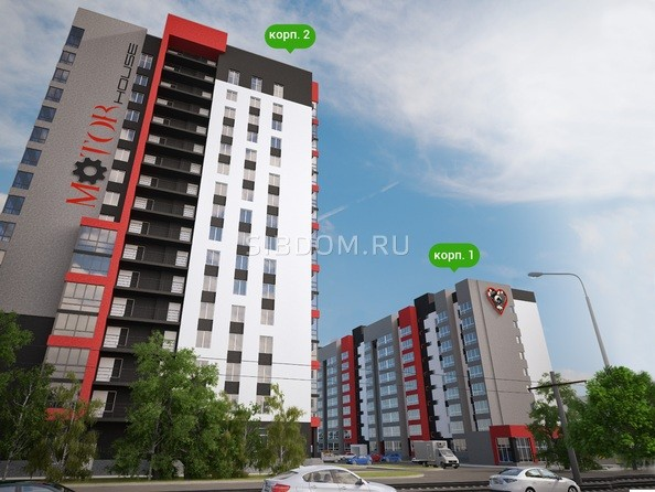 Картинки Жилой комплекс МОТОР, корпус 2
