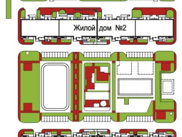 Планировки Жилой комплекс ЗАПАДНЫЙ, дом 1, 3 этап - План