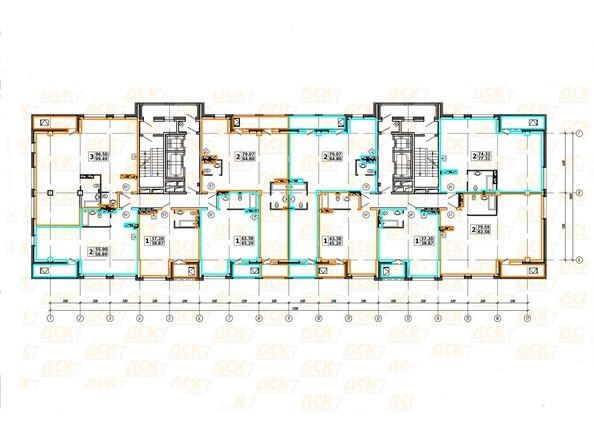 Планировка 15 этажа