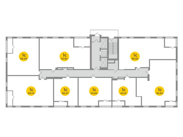 Планировка 26 этажа