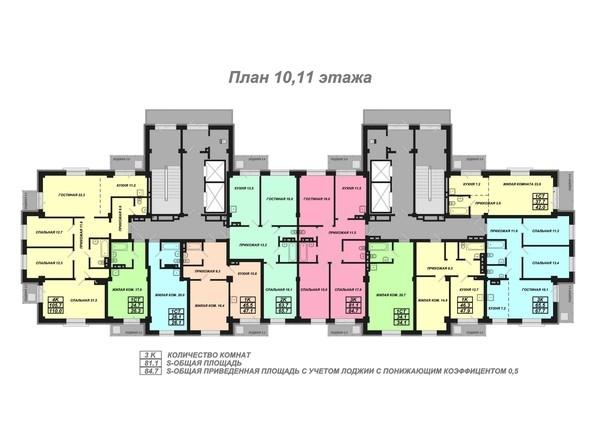 Планировки Жилой комплекс Базарная, дом 1