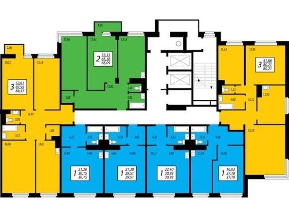 Секция 2, 2 этаж