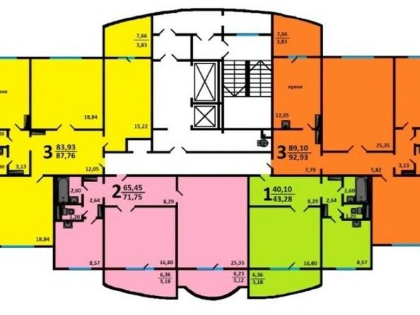 3-6 этаж