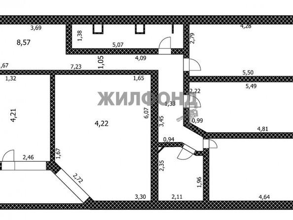 Продам 4-комнатную, 109.5 м2, Северный Власихинский проезд, 66. Фото 11.
