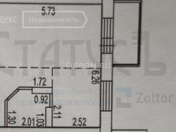 Продам 1-комнатную, 34.8 м², Северный Власихинский проезд, 106. Фото 2.