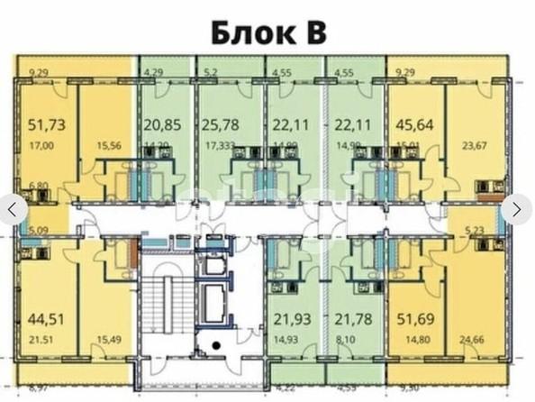 Продам 1-комнатную, 47.2 м2, Бабушкина ул, 37. Фото 1.