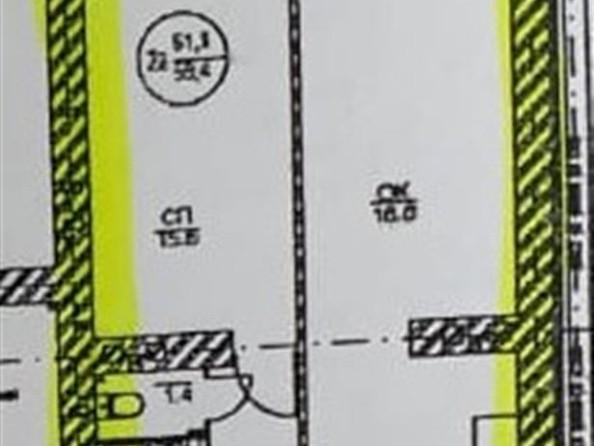 Продам 2-комнатную, 59.4 м2, Нефтяная ул, 15. Фото 3.
